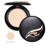 Mistine Wings Extra Cover Super Powder SPF 25PA++ S1 ผิวขาว