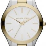 นาฬิกาข้อมือ Michael Kors รุ่น MK3198 Michael Kors Slim Runway Two-tone Stainless Steel Unisex Watch MK3198