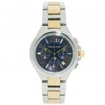 นาฬิกาข้อมือ Michael Kors รุ่น MK5758 Michael Kors Women's Camille Two Tone Bracelet Blue Dial Watch MK5758 Size 43 mm