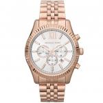 นาฬิกาข้อมือ Michael Kors รุ่น MK8313 Michael Kors Men's MK8313 Oversize Rose Lexington Watch