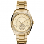 นาฬิกาข้อมือ Michael Kors MK6134 Michael Kors Bryn Gold Dial Gold-plated Ladies Watch MK6134