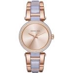 นาฬิกาข้อมือ Michael Kors MK4319 Michael Kors Women's MK4319 Delray Stainless Steel Casual Watch