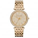 นาฬิกาข้อมือ Michael Kors MK3438 Michael Kors Darci Crystal Pave Gold-Tone Stainless Steel