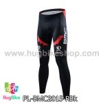 กางเกงจักรยานขายาวทีม BMC 15 สีแดงดำ สั่งจอง (Pre-order)