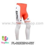กางเกงจักรยานขายาวทีม BMC 14 สีแดงขาว สั่งจอง (Pre-order)