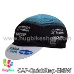 หมวกแก๊บ QuickStep 14 (02) สีดำขาวฟ้า