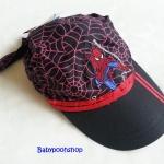 หมวก ลาย สไปเดอร์แมน สีดำ-แดง