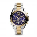 นาฬิกาข้อมือ Michael Kors MK5976 Michael Kors Bradshaw Chronograph Blue Dial Two-tone
