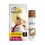 ฟอกสีผม ดีแคช มาสเตอร์ Master Bleaching Powder สีทอง 15 g. + ครีมผสมครีมย้อมผม มิลล์ร็อกซี่ ซอฟท์ ครีม 12% 60 ml.