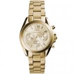 นาฬิกาข้อมือ Michael Kors MK5798 Michael Kors Women's MK5798 Bradshaw Gold-Tone Stainless Steel Watch