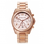นาฬิกาข้อมือ Michael Kors รุ่น MK5263 Michael Kors Women's MK5263 Blair Rose Gold-Tone Watch