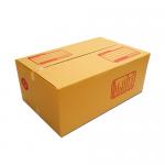 กล่องไปรษณีย์ฝาชนเบอร์ D (ขนาด ง) ขนาด 35 X 22 X 14 cm. ใบละ 6 บาท
