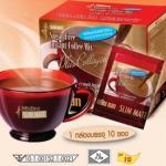 มิสทิน สลิม เมท กาแฟปรุงสำเร็จ ผสมคอลลาเจน สูตรไม่มีน้ำตาล (15g X 10 ซอง)