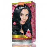 Lolane Aroma Rose Color Cream L02 สีคอฟฟี่บราวน์ (Coffe Brown ) ปิดผมขาว
