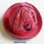 หมวก ลายปัก สไปเดอร์แมน สีแดง