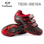 รองเท้าจักรยานเสือภูเขา TIEBAO รุ่น TB35-B816A สีแดงดำ สั่งจอง (Pre-order)