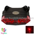 ไฟท้ายจักรยาน Leadbike รุ่น ชาร์ต USB