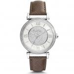 นาฬิกาข้อมือ Michael Kors MK2377 Catlin Pavé Silver-Tone Watch