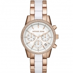 นาฬิกาข้อมือ Michael Kors MK6324 Michael Kors Women's MK6324 Ritz Rose Gold-Tone
