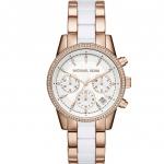 นาฬิกาข้อมือ Michael Kors MK6324 Michael Kors Women's MK6324 Ritz Rose Gold-Tone