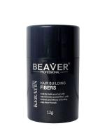 Beaver ผงไฟเบอร์ปิดผมบาง (Hair Building Fiber) ขนาดพกพา 12 g สูตรใหม่