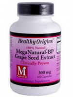 Healthy Origins Mega Natural®-BP Grape Seed Extract -- 300 mg - 60 Capsules