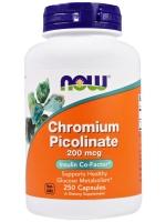 Now Foods, Chromium Picolinate, 200 mcg, 250 Capsules