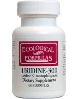 Cardiovascular Research Ltd., Ecological Formulas, Uridine-300, 60 Capsules