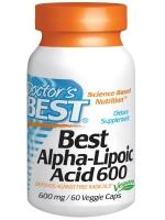 Doctor's Best, Best Alpha-Lipoic Acid, 600 mg