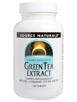 Source Naturals, Green Tea Extract, 500 mg