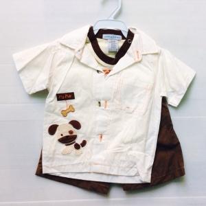 ชุดเด็กชายงานส่งออกแบบเชิดสามชิ้นครับขายส่งยกแพ็ค 6 ชุดราคา 780 บาท s 3/6 6/9 m สินค้าพร้อมจัดส่งครับ