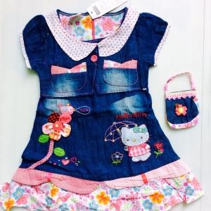 ชุดกระโปรงเด็กหญิงแบรน NEXT แบบดูไฮโซ ขายสางยกแพ็ค 5 ชุด size 2-3-4-5 -6 y 950 บาท