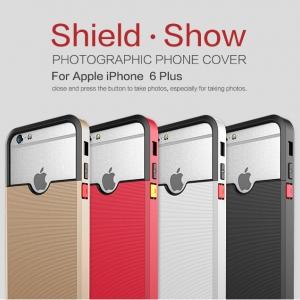 เคสมือถือ iPhone 6 Plus รุ่น Shield Show Photographic Phone Cover