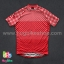 เสื้อจักรยานแขนสั้นทีม TWINSIX 16 (03) สีแดงลายจุดขาว