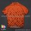 เสื้อจักรยานแขนสั้นทีม TWINSIX 16 (04) สีส้มลาย