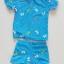 ชุดว่ายน้ำ เสื้อ+กางเกงขาสั้น ลาย Frozen สีฟ้า size : M (3-4y) thumbnail 5