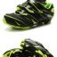 รองเท้าจักรยานเสือภูเขา TIEBAO รุ่น TB35-B816A สีดำเขียว thumbnail 7