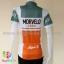 เสื้อจักรยานผู้หญิงแขนสั้น Morvelo 16 (01) สีขาวเทาส้ม thumbnail 2