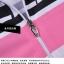 ชุดจักรยานผู้หญิงแขนสั้นขาสั้น CheJi 14 (06) สีขาวชมพูดำ สั่งจอง (Pre-order) thumbnail 12