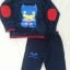 Set เสื้อแขนยาว + กางเกงขายาว สกรีนลาย Batman สีกรม size 1y / 2y / 5y thumbnail 2