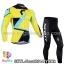 ชุดจักรยานแขนยาวทีม Scott 14 (02) สีเหลืองฟ้าดำ สั่งจอง (Pre-order) thumbnail 1