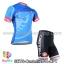 ชุดจักรยานแขนสั้นทีม Castelli 14 สีฟ้าลาย