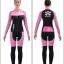 ชุดจักรยานผู้หญิงแขนยาวขายาว CheJi 15 (04) สีชมพูดำ Skull recing thumbnail 15