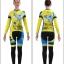 ชุดจักรยานผู้หญิงแขนยาวขายาว CheJi 15 (10) สีเหลืองน้ำเงิน ลายผีเสื้อ สั่งจอง (Pre-order) thumbnail 12