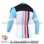 เสื้อจักรยานแขนยาวทีม Bianchi 14 สีเขียวดำขาว thumbnail 2