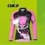 เสื้อจักรยานผู้หญิงแขนยาว CheJi สีดำชมพูลาย Devil Gear สั่งจอง (Pre-order) thumbnail 1