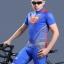 เสื้อจักรยานแขนสั้น Superman 2014 สีน้ำเงินแดง สั่งจอง (Pre-order) thumbnail 7