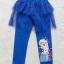 H&M : กางเกงเลกกิ้ง มีระบาย สกรีน ลาย เอลซ่า สีน้ำเงิน size 2-4y thumbnail 1