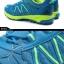 รองเท้าจักรยานเสือภูเขาแบบผ้าใบ TIEBAO รุ่น TB22-B1323 สีฟ้าเขียว thumbnail 8