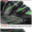 รองเท้าจักรยานเสือหมอบ TIEBAO รุ่น TB02-B952 สีดำเขียว ตัวรัดออโต้ thumbnail 5